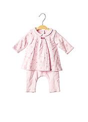 Combi-pantalon rose ABSORBA pour fille seconde vue