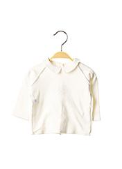 T-shirt manches longues blanc ABSORBA pour fille seconde vue