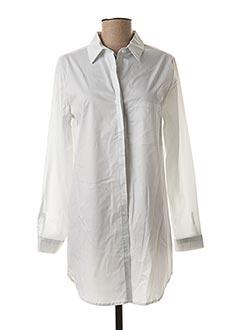 Tunique manches longues blanc SENES pour femme