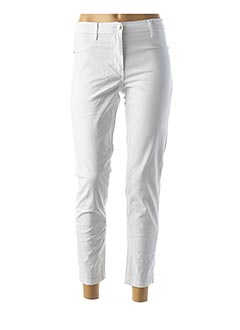 Pantalon casual blanc BETTY BARCLAY pour femme