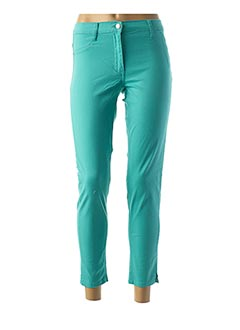 Pantalon casual vert BETTY BARCLAY pour femme