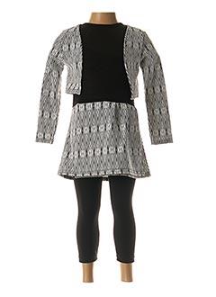 Veste/robe gris LPC GIRLS pour fille