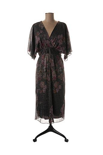 Robe mi-longue vert HOLLY & JOEY pour femme