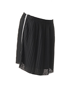 Jupe mi-longue noir TEDDY SMITH pour fille
