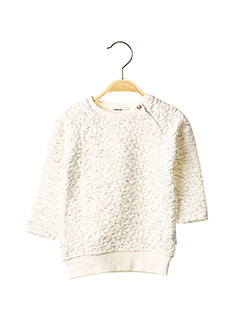Sweat-shirt blanc NOPPIES pour fille