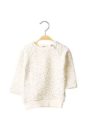 Sweat-shirt blanc NOPPIES pour fille