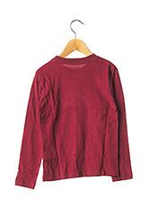 T-shirt manches longues rouge TIFFOSI pour garçon seconde vue