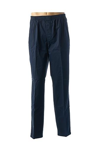 Pantalon chic bleu LCDN pour homme