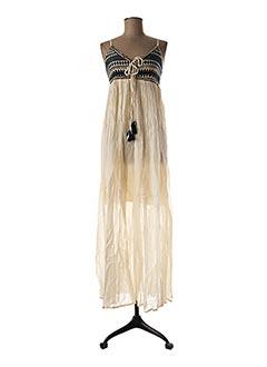 Robe longue beige GOA pour femme