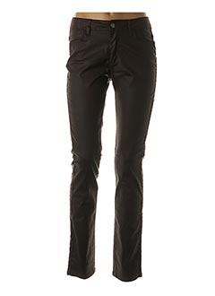 Pantalon casual marron MADO ET LES AUTRES pour femme