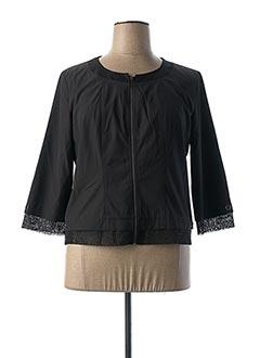 Veste casual noir GRIFFON pour femme