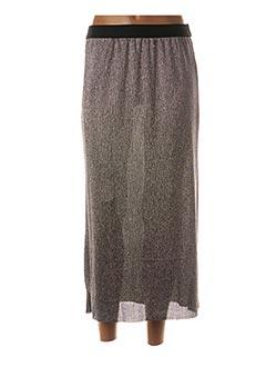 Jupe longue gris SAM & LILI pour femme