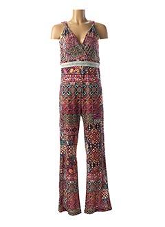 Combi-pantalon rose LO! LES FILLES pour femme