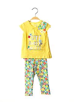Top/pantalon jaune BOBOLI pour fille