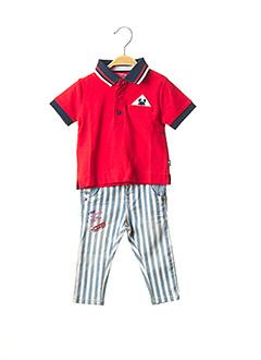 Top/pantalon rouge BOBOLI pour garçon