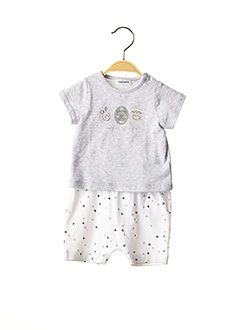 Top/short gris NOUKIE'S pour fille