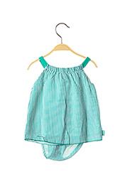 Robe mi-longue vert BOBOLI pour fille seconde vue