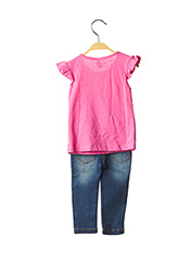 Top/pantalon rose LOSAN pour fille seconde vue