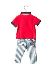 Top/pantalon rouge BOBOLI pour garçon seconde vue