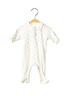 Pyjama blanc PETIT BATEAU pour garçon