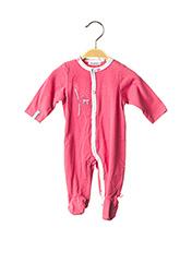 Pyjama rose NOUKIE'S pour fille seconde vue