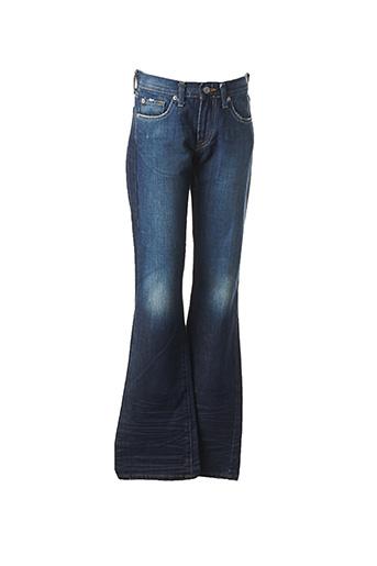 Jeans bootcut bleu ACQUAVERDE pour femme
