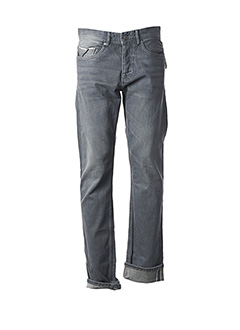 Jeans coupe droite gris JULES pour homme