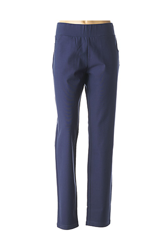 Pantalon casual bleu BUGARRI pour femme