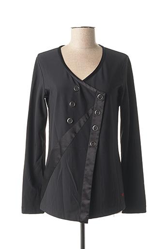 Veste casual noir MYBO pour femme