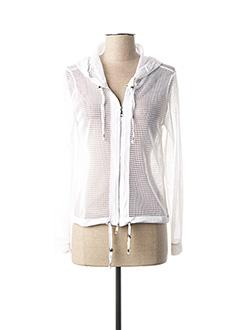 Veste casual blanc DECA pour femme