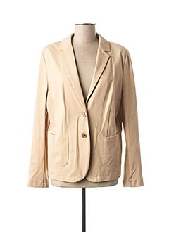 Veste chic / Blazer beige WHITE LABEL pour femme