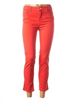 Pantalon 7/8 rouge CONCEPT K pour femme