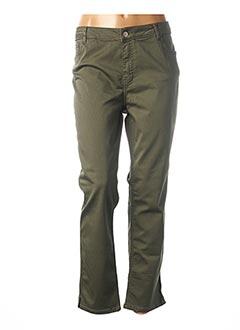 Pantalon 7/8 vert CONCEPT K pour femme