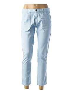 Jeans boyfriend bleu ACQUAVERDE pour femme