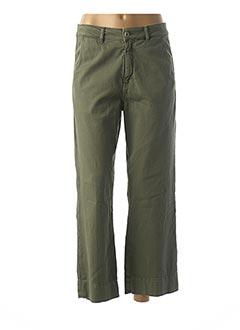 Pantalon casual vert ACQUAVERDE pour femme