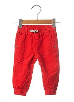 Pantalon casual rouge 3 POMMES pour enfant