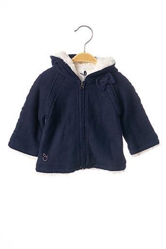 Veste casual bleu 3 POMMES pour fille