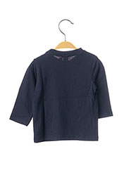 T-shirt manches longues bleu 3 POMMES pour garçon seconde vue