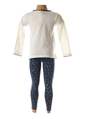 Top/pantalon bleu 3 POMMES pour fille seconde vue