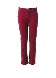 Pantalon casual rouge 3 POMMES pour garçon