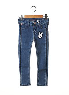 Jeans skinny bleu CHIPIE pour fille