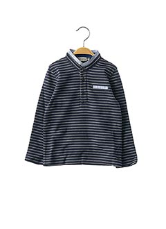 T-shirt manches longues bleu JEAN BOURGET pour garçon