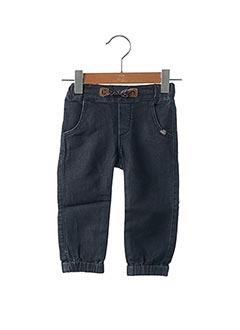 Pantalon casual bleu JEAN BOURGET pour garçon
