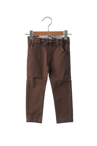 Pantalon casual marron JEAN BOURGET pour garçon