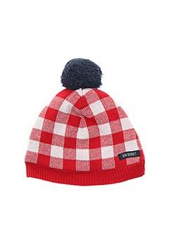 Bonnet rouge JEAN BOURGET pour fille