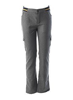 Pantalon casual gris JEAN BOURGET pour garçon