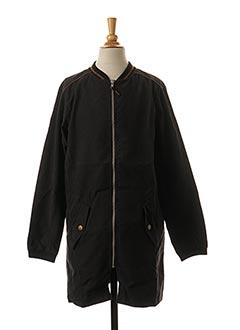 Manteau long noir BECKARO pour fille