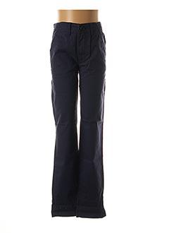 Pantalon casual bleu BECKARO pour fille