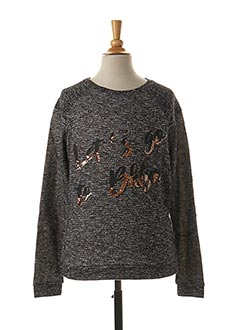 Sweat-shirt gris BECKARO pour fille