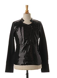 Veste casual noir BECKARO pour fille